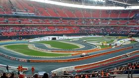Probably the last chance we'll get to see F1 drivers racing in anger until the season begins again, it's the annual Race of Champions. Drivers across many disciplines race in a variety of cars to determine the Champion of Champions on a purpose built, 2 lane track. The list of drivers and cars is too long to mention but they are both impressive and varied, more details can be found at the ROC website.  The races are short but can be very tight, creating lots of tense action.