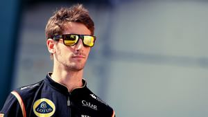 Romain Grosjean in taking it easy in Hungarian paddock