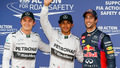 A chaotic but brilliant session sees Mercedes on top