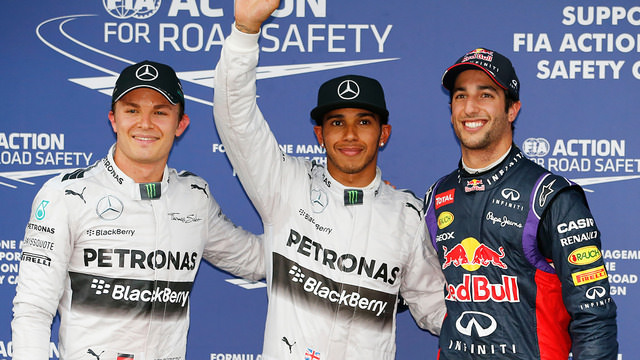 First pole for Hamilton in rain-hit qualifying