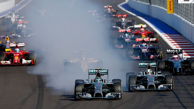 Mercedes wrap up constructor's championship in Sochi