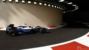 Rosberg participates in his final race for Williams