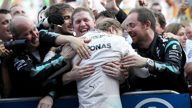 Rosberg wins incident-free inaugural Baku race