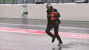 Limited running at Suzuka as rain stops play