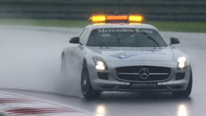 Safety car in the rain