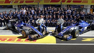 Sauber lose out to McLaren and drop to last place