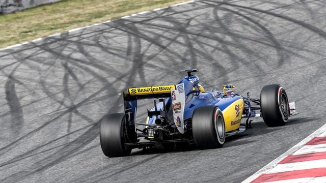 Sauber participating with last year's car