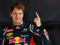 Vettel takes pole position ahead of Mark Webber
