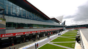 Silverstone's revamped pitlane and media centre