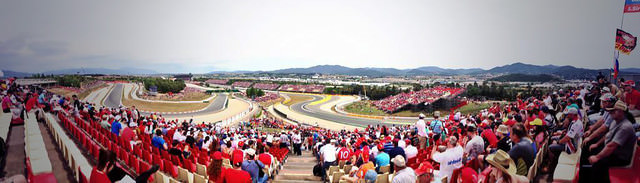 Panorama circuit view