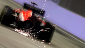 F1 sparks in the dark