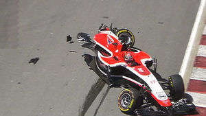 Damaged Marussia