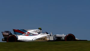 Stroll causes safety car with gearbox issues