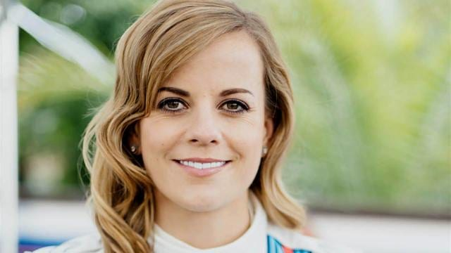 Susie Wolff launches Dare to be Different campaign