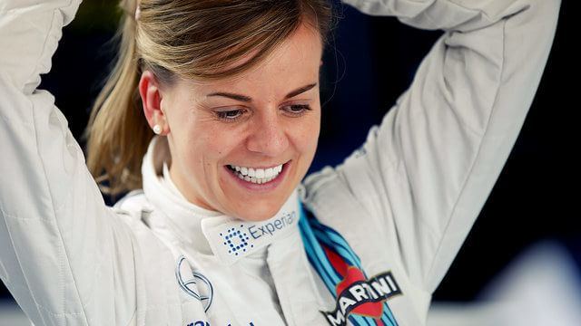 Susie Wolff appointed Williams test driver for 2015