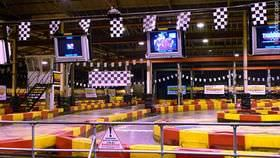 After all the excitement of Autosport International, we're now heading towards Teamworks Karting in the centre of Birmingham.  The plan is to meet up with a host of familiar faces and thrash out some laps on the track.