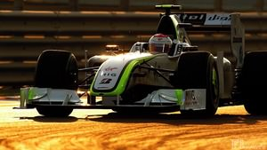 Brawn GP participate in the final race of their debut year