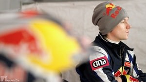 Kimi Räikkonen ponders his results during the Arctic Rally