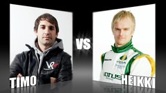 Sidepodcast: Character Cup - Round 2, Timo Glock vs. Heikki Kovalainen