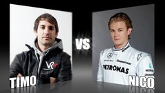 Sidepodcast: Character Cup 2010 - Round 1, Timo Glock vs. Nico Rosberg