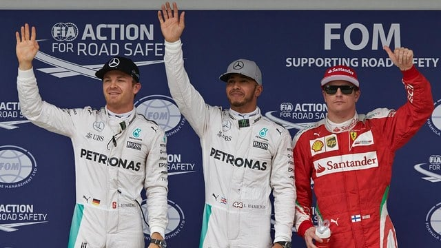 Hamilton scoops pole as Haas qualify well in Brazil