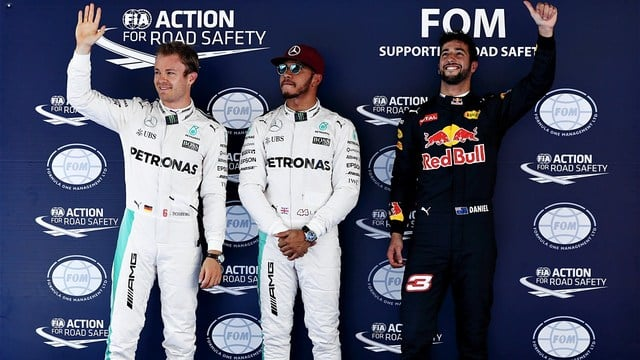 Hamilton snatches pole in Spain as Red Bull shine