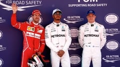 Sidepodcast: Hamilton takes pole for Spain with Vettel on the front row