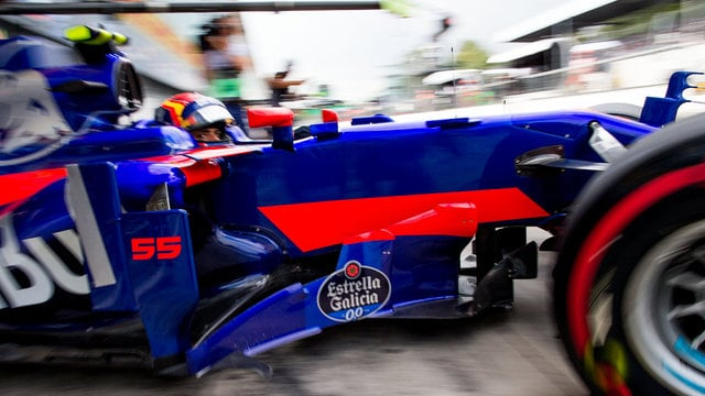 Toro Rosso suffer engine trouble during Italy practice