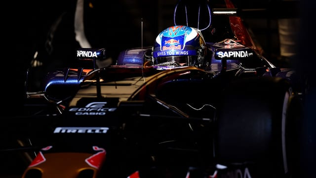 Toro Rosso reveal their new sparse livery