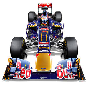 Studio render of the Toro Rosso STR8