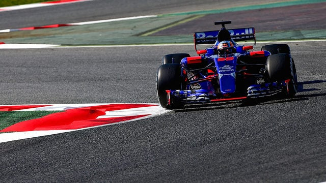 The sun shines on Toro Rosso's new look