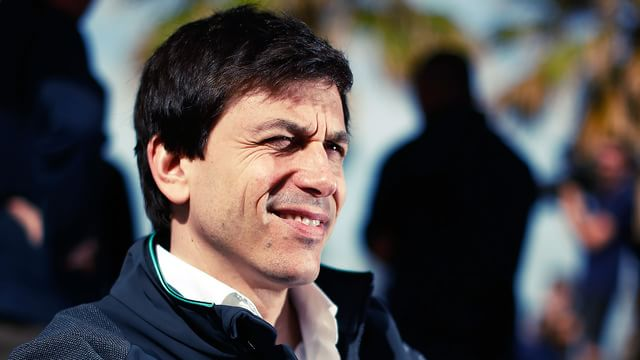 All eyes on Toto Wolff at Mercedes