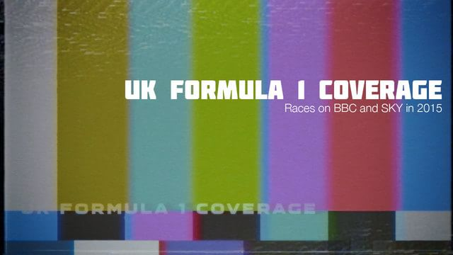 F1 coverage test card
