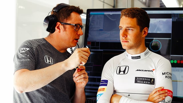 McLaren extend contract with Stoffel Vandoorne for 2018