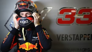 Verstappen goes fastest in disrupted practice session