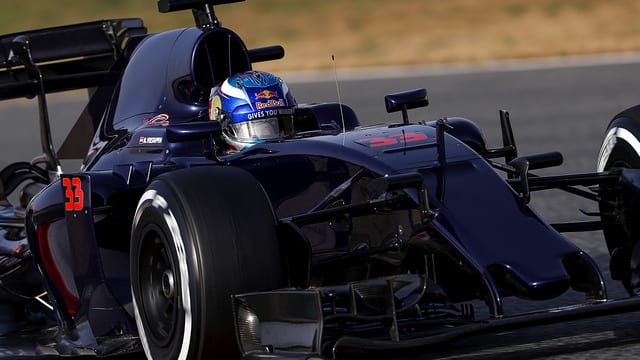 Verstappen finished bottom of the day two timesheets