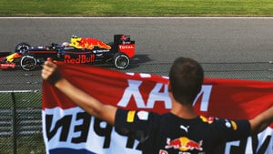 Verstappen secures front row grid spot in Belgium