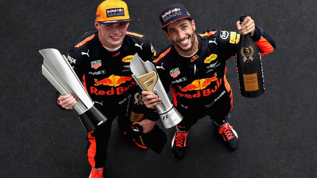 Verstappen takes race victory in Sepang as Vettel minimises the damage