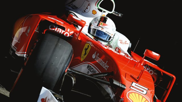 With fresh tyres and a fixed Ferrari, Vettel smelt blood