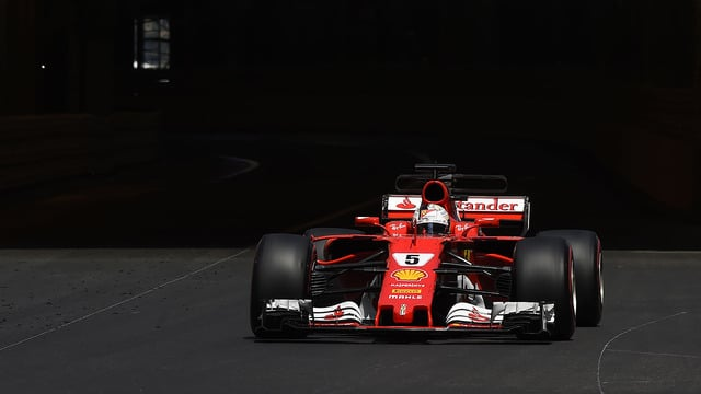 Ferrari secure 1-2 finish with Vettel taking victory in Monaco