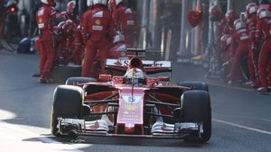 Vettel scoops fastest lap of the race after run to finish
