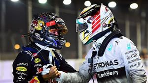 Vettel and Hamilton following Singapore Grand Prix