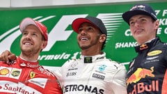 Sidepodcast: Lewis Hamilton wins the Chinese race to equal Vettel points