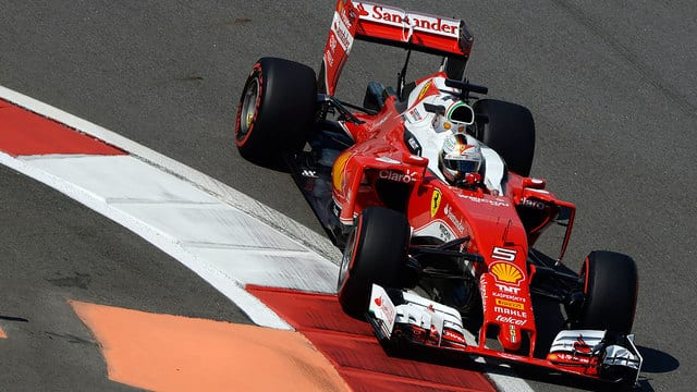 Sebastian Vettel hit with five place gearbox penalty in Russia