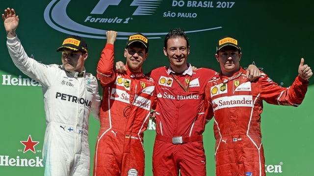 Vettel wins in Brazil, as Hamilton rises to fourth