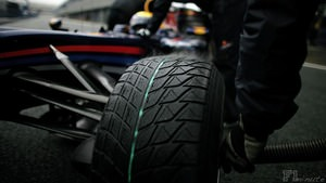 Webber's tyres steam during wet Jerez testing
