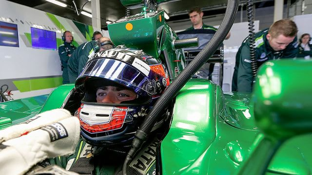 Will Stevens joins Caterham for final race of 2014