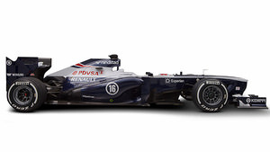 Williams FW35 studio shot