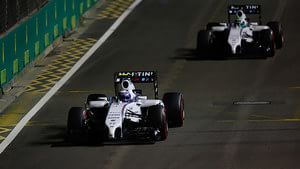Williams struggle for pace in qualifying