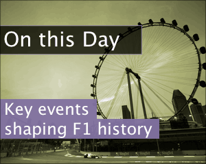 On this day in F1 history